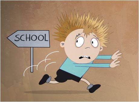 Copiii tăi au frică de școală și se simt sub presiune: de ce?