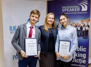 Absolvenți Professional Speaker Junior pentru copii și adolescenți
