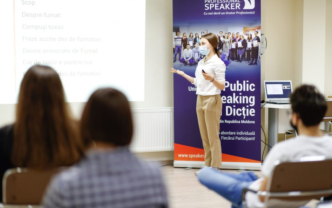 Cursul de Public Speaking, o experiență provocatoare